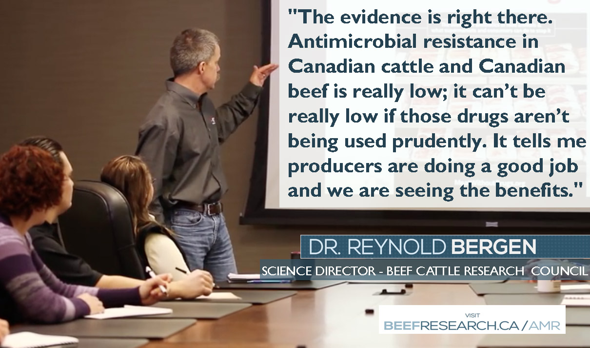 Antimicrobial Use and Resistance facts Canadian beef www.beefresearch.ca/AMR